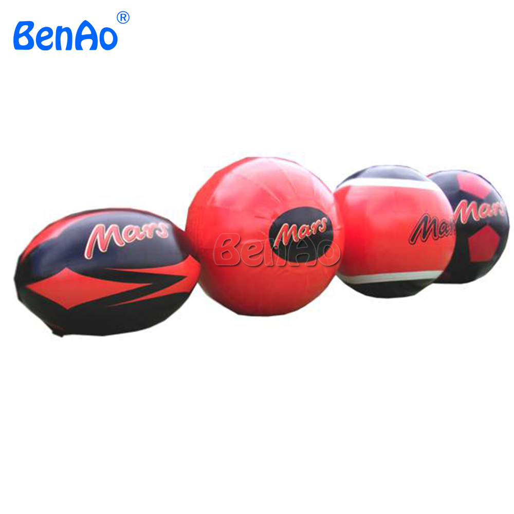 Z159 BENAO custom commercial inflatable Mars balls replica Advertising inflatable sky ballons helium balloons for sale