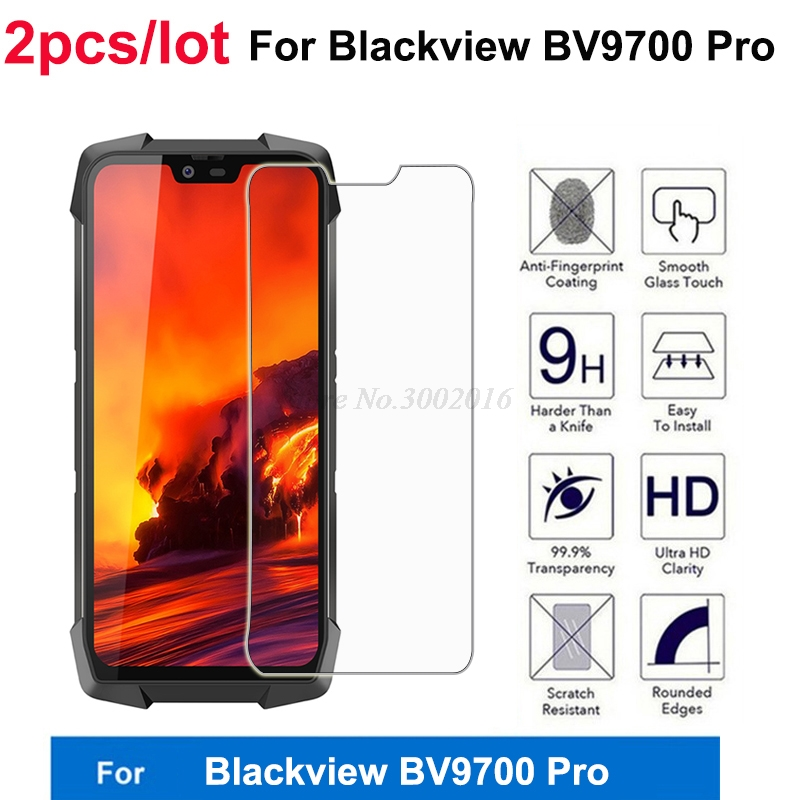 2PCS Tempered Glass For Blackview BV9700 Pro Screen Protector 9H Toughened Protective Mobile Phone Film For Blackview BV9700 Pro