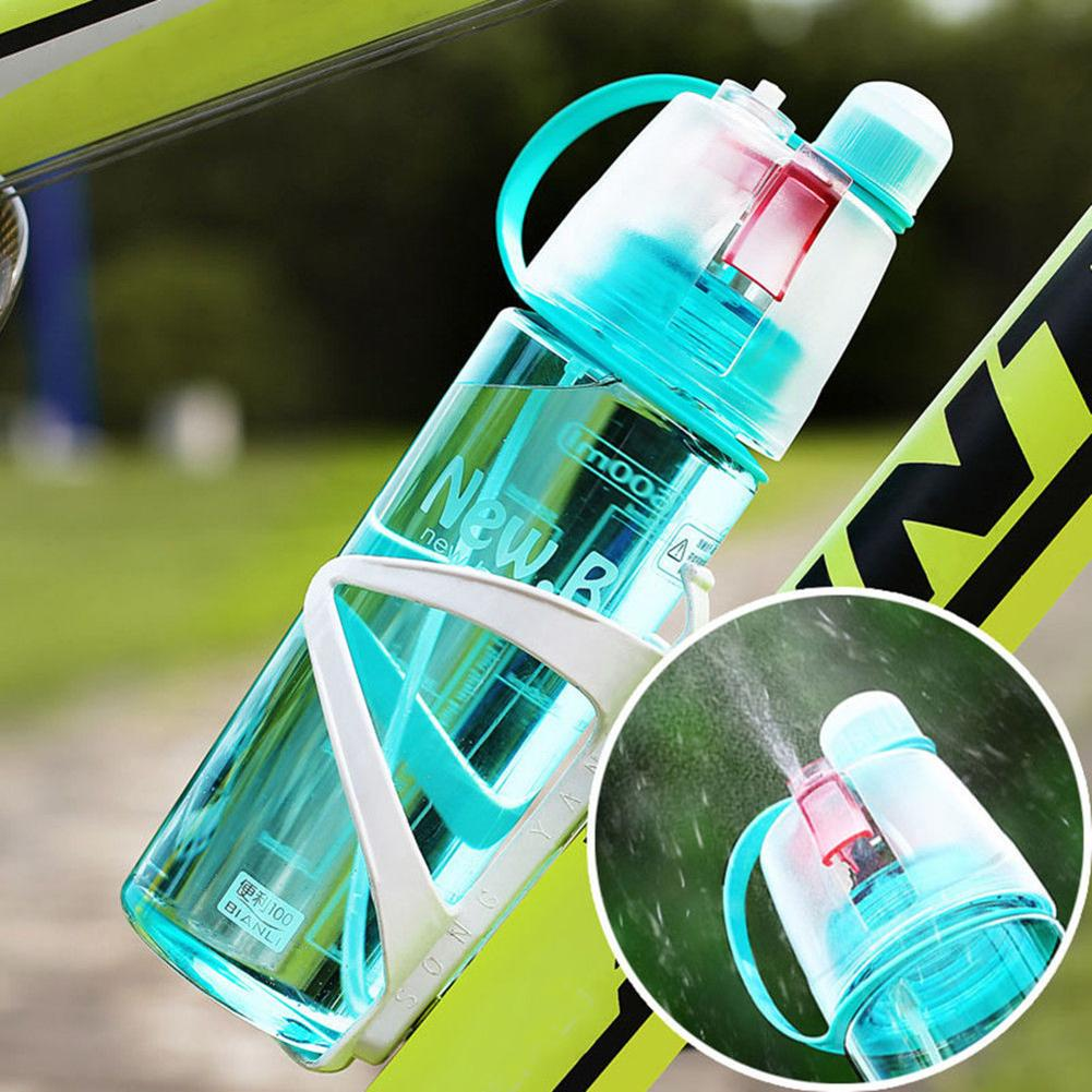 600ml Sport Cycling Bicycle Water Bottle Mist Spray Gym Portable Travel Atomizing Drinking Cup Outdoor Climbing Plastic Bottles600ml Sport Cycling Bicycle Water Bottle Mist Spray Gym Portable Travel Atomizing Drinking Cup Outdoor Climbing Plastic Bottles