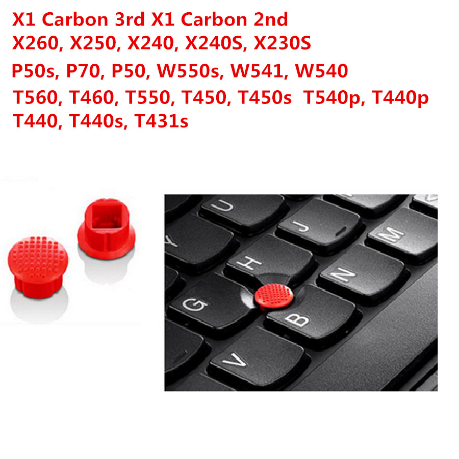 3PCS Original for LENOVO THINKPAD X1 Carbon 2nd 3rd X260 X250 X240 X240S X230S T560 T460 T450 T440P T440 Trackpoint Cap Mouse ...