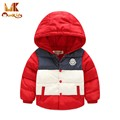 Monkids Children Outerwear Clothing Winter Jacket for Girls Boys Winter Jacket Down Coat&Jackets Kids Clothes Windbreaker