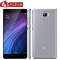 Original Xiaomi Redmi 4 4100mAh Snapdragon430 Octa Core Smartphone 2G RAM FDD LTE 4G Fingerprint ID 5