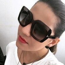 Oversize Women Sunglasses Luxury Brand Vintage Eye Sun Glass