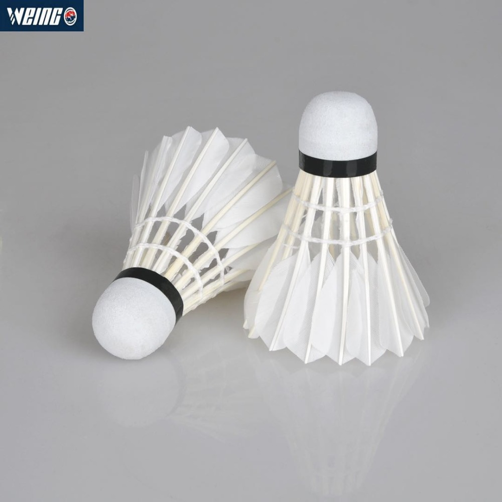 Sport Double Fish Goose Feather Durable Badminton-v Be Friendly In Use