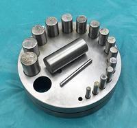 Free shipping jewellery Tools Jewelers Disc Cutter with 17 pcs dies jewelry metal disc cutter