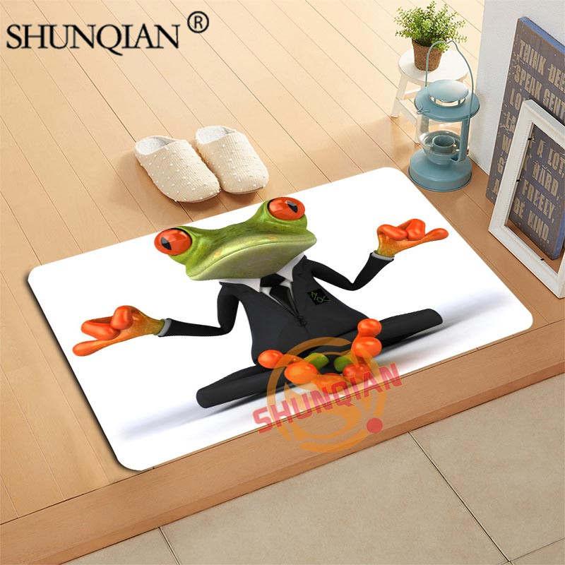 Frog Doormat Custom Your Mats Print Slip Resistant Door