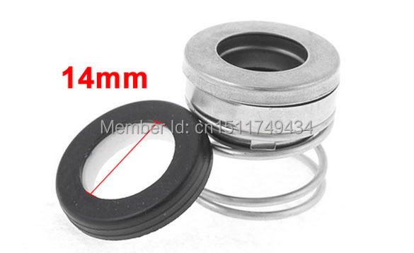 14 mm de diámetro interior único de la Primavera De Bomba De Agua Sello Mecánico