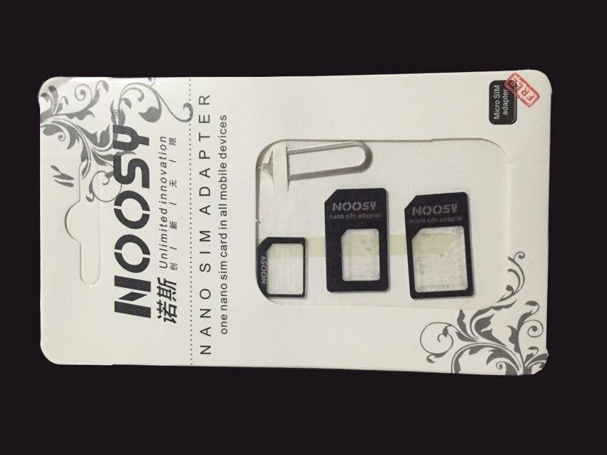 4 in 1 Nano Sim Card Adapters+Micro Sim+Stander Sim Card SIM Card & Tools For Sony Xperia Z3 Z5 Z4 Z2 Z1 Compact M4 Qqua M2