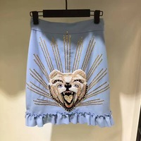 Simplee высокая талия юбки женская нижняя Короткие стиль бохо шик embiordery юбка женские элегантные пикантные мини юбка 2017 летние пляжные