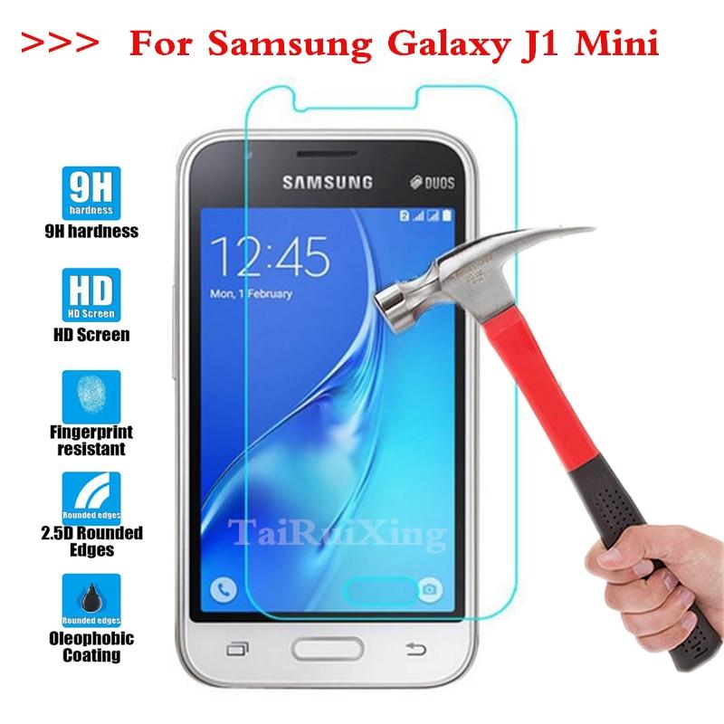 Screen Protector Film 0.3mm 9H 25D Front Premium Tempered Glass For Samsung Galaxy J1 Mini J105 J1Mini 2016 SM-J105H J1 Mini