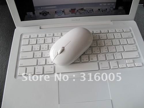 Free shipping ,800-1600dpi wireless Bluetooth mouse for Mac with retail package