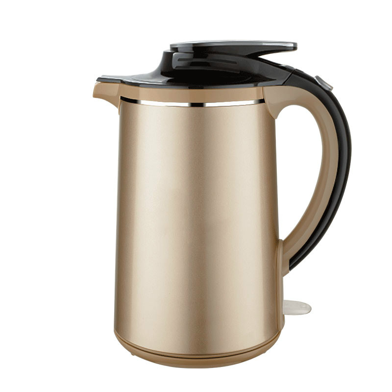 Electric kettle boiling water heat preservation and insulation of the double household 304 stainless steel autom bride of the water god v 3