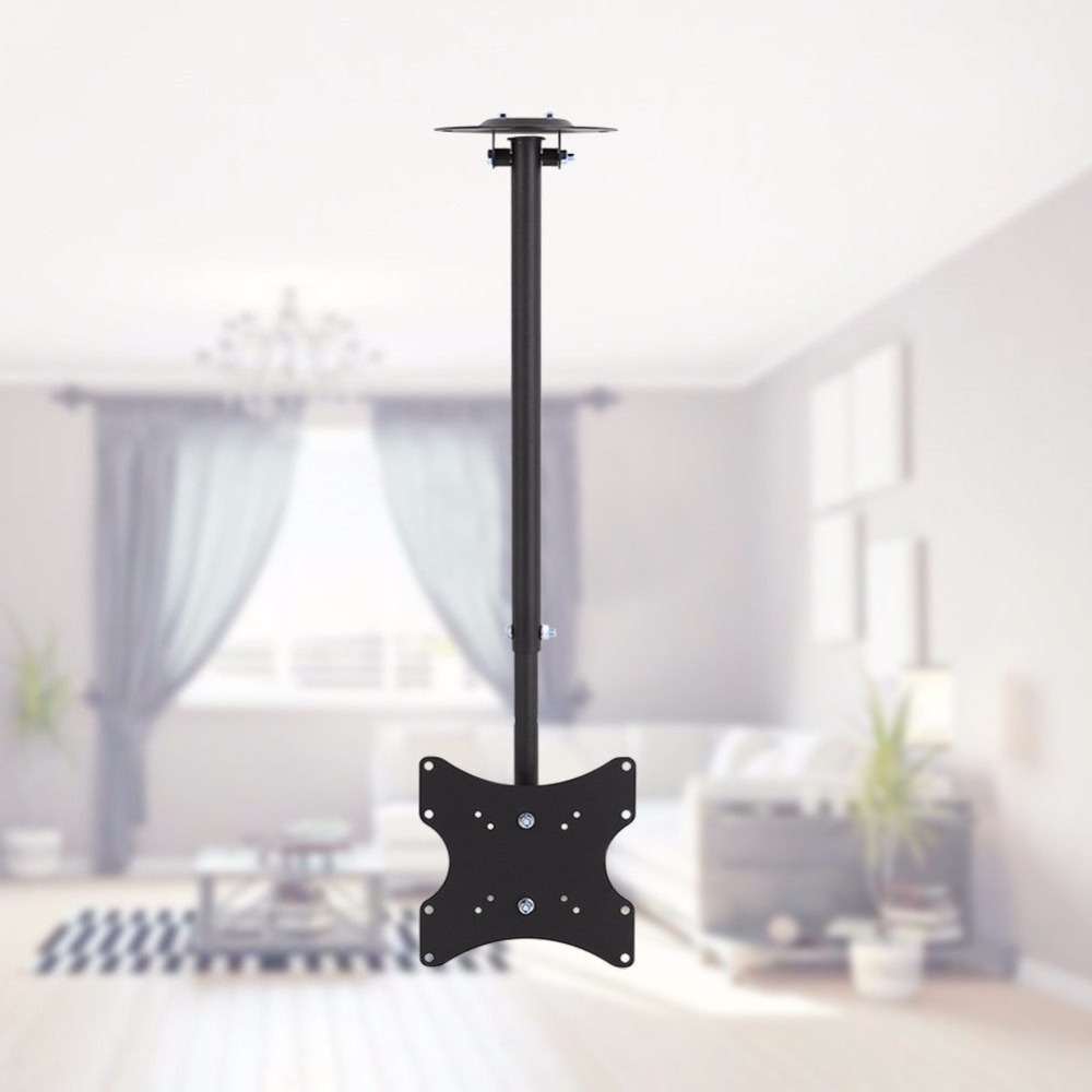 Universal TV Full Rotating Adjustable 13-37 Ceiling TV Mount Bracket LED LCD Monitor Hol ...