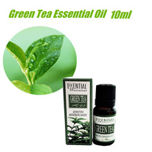 Pure Natural Green Tea Essential Oil Massage Pedicure Multiple Founctions Refreshing Aromatherapy Beauty Salon 10ml