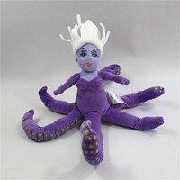 1 개 30 센치메터 인어 악당 어슐러 문어 바다 마녀 봉제 인형 장난감 인형