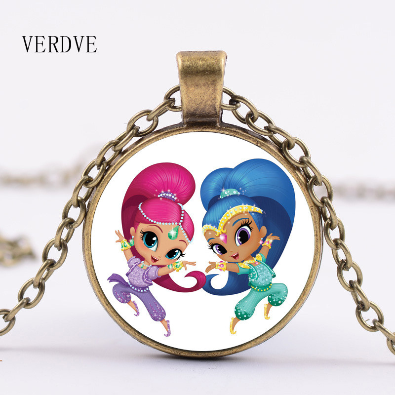 VERDVE New Arrivals Best Sales Shine And Glow Crystal Glass Necklace Pendant Necklace High quality for children