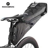 Rockbros Bike Saddle Bag 2018 Waterproof TPU Nylon Bicycle Bag High Capacity Cycling Rear Seat Bag
