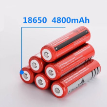 18650 Bateria de lítio recarregável bateria 4800 mAh 3.7 V bateria Li-ion para Tocha lanterna 18650 Baterias GTL EvreFire