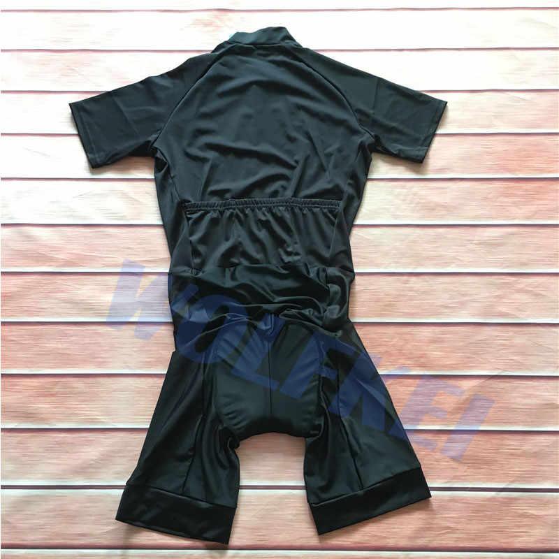 Новое поступление 2019 все черные женские летние велосипедная одежда цельный комбинезон боди Ropa Ciclismo быстросохнущая велосипедная одежда