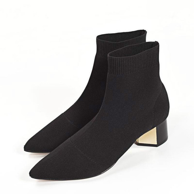 Sock Ankle Boots 1