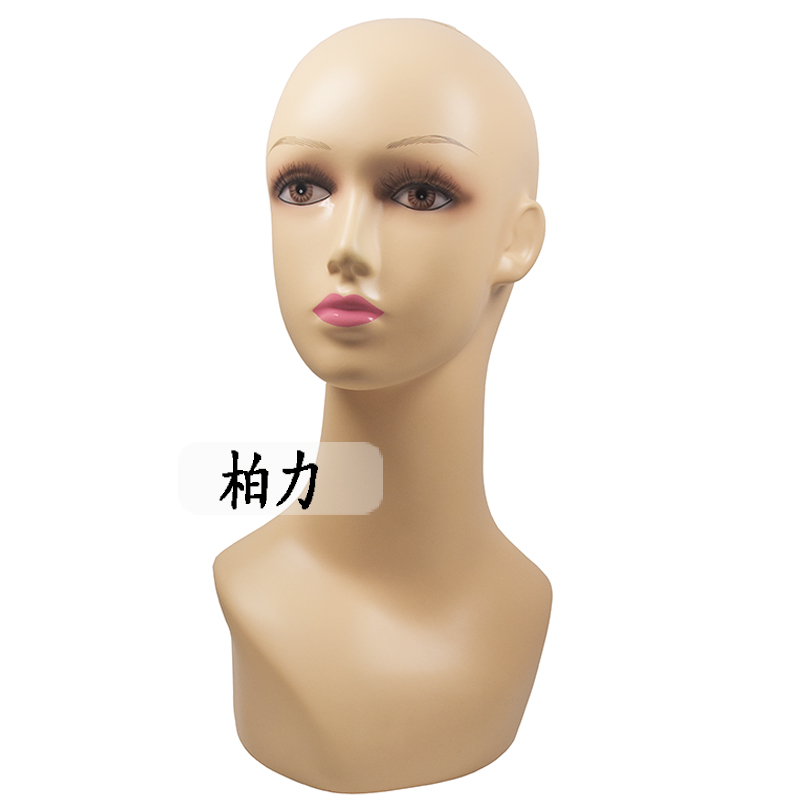 ФОТО Free Shipping Height 45CM Makeup Female Mannequin Manikin Head Female maniqui Model For Wig Hair Hat Jewellery Display Stand