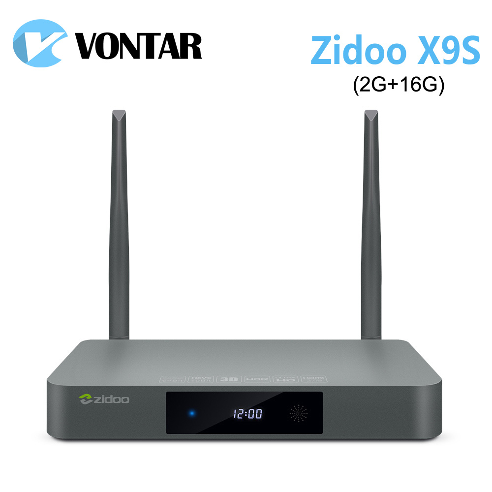 [Genuine] ZIDOO X9S TV BOX Android 6.0 + OpenWRT(NAS) Realtek RTD1295 2G/16G 802.11ac WIFI Bluetooth 1000M Media Player zidoo x9s android 6 0 tv box realtek rtd1295 quad core 2g 16g hdmi out in kodi smart tv russian hebrew iptv europe media player