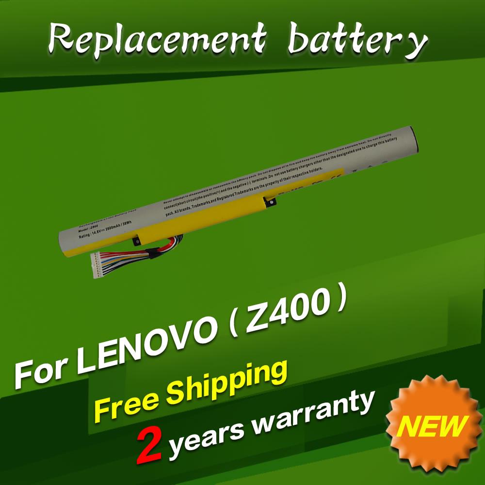 JIGU Free shipping laptop Battery For LENOVO for Ideapad Z400 Z400S Z400A Z400T Z510 Z510A Z500 Z500A L12S4K01 L12L4K01