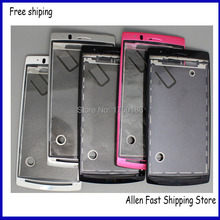 100% Genuine  Housing Cover Case For Sony Ericsson Xperia Arc S X12 LT15i LT18i LT18 LT15 Housing+ Logo,Free Shipping