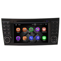 Android 7 1 Quad Core 1024 600 Touch Screen Car DVD Player For Mercedes Benz E