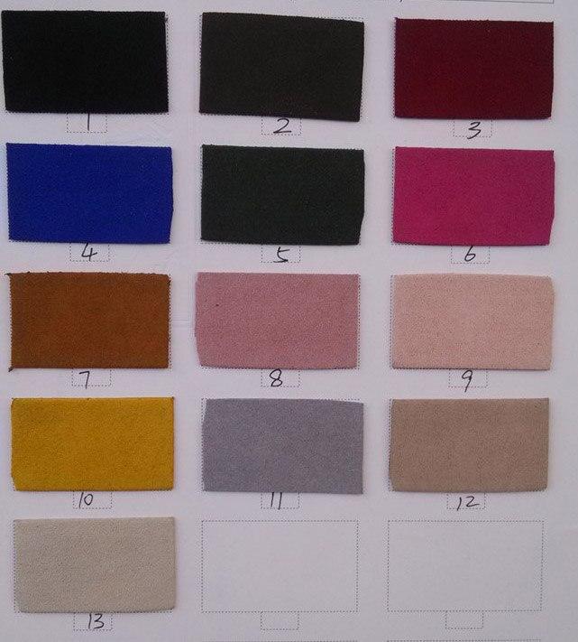 13 colori 1.0mm Pesante Ultra Microfibra Pelle Scamosciata Del Faux Cuoio Tappezzare Benslther marca