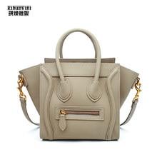Brand Designer Luxury Bags Handbags Women PU Leather Handbag Fashion Smile Face  Smiley Lady Hand Bag Bolsa Feminina Female Purse 37a629d911c8f