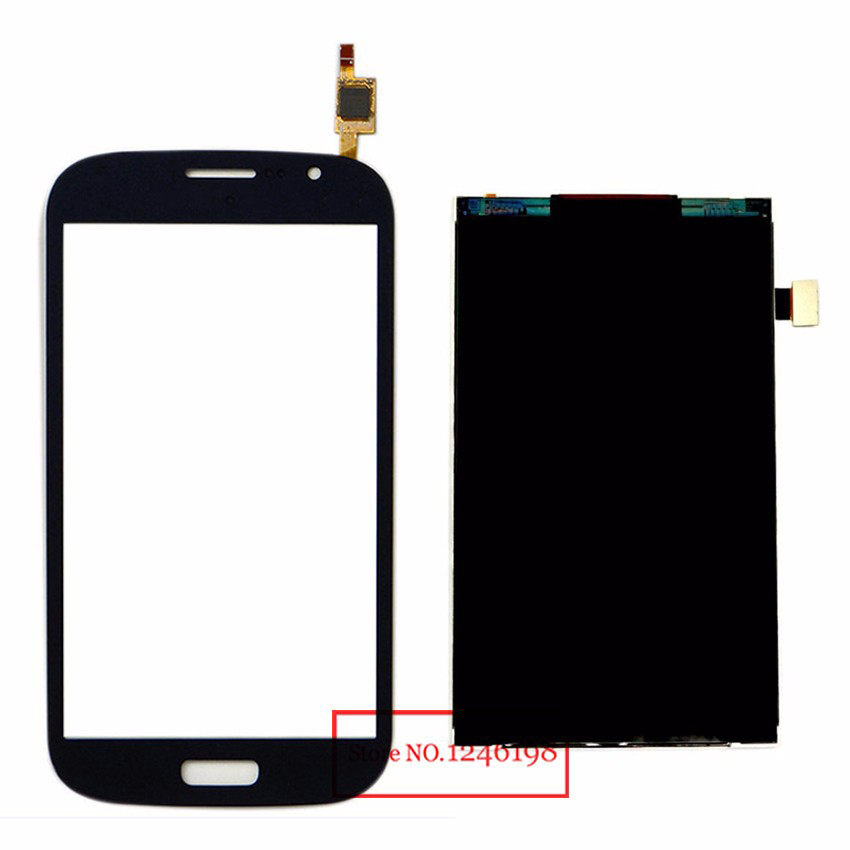 TOP Quality Black Touch Screen Digitizer + LCD Display Panel For Samsung Galaxy Grand Duos i9080 i9082 Replacement Repair Parts