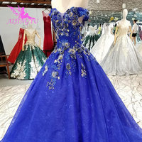 AIJINGYU Expensive Wedding Dresses Gowns With Ruffles Crystal Top Vintage Lace Princess Gown Summer Wedding Dress