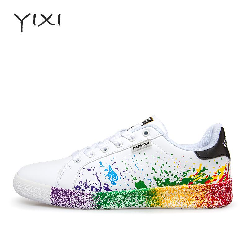Unisex New Fashion 2017 Men Shoes Summer Breathable Men Casual Shoes Pu Leather Lace-up Flat White Shoes Men 2017 new summer breathable men casual shoes autumn fashion men trainers shoes men s lace up zapatillas deportivas 36 45
