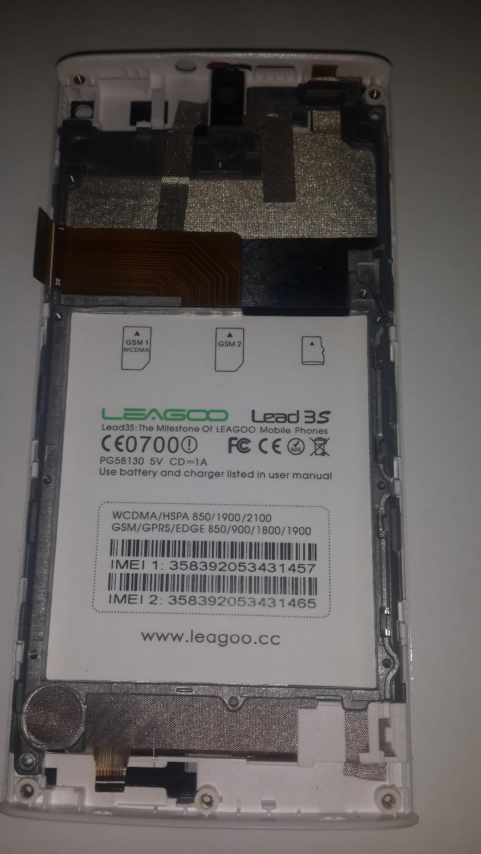 100% Leagoo Lead3s LCD affichage + tactile numériseur assemblée remplacement pour Leagoo Lead3s livraison gratuite + numéro de suivi