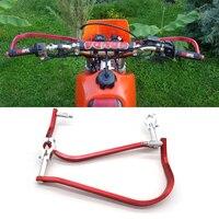 Red For KTM SX EXC ADV SMR Paramanos Moto Dirt Bike Motocross Handlebar Handguards Hand Guards 7/8 22mm FatBar