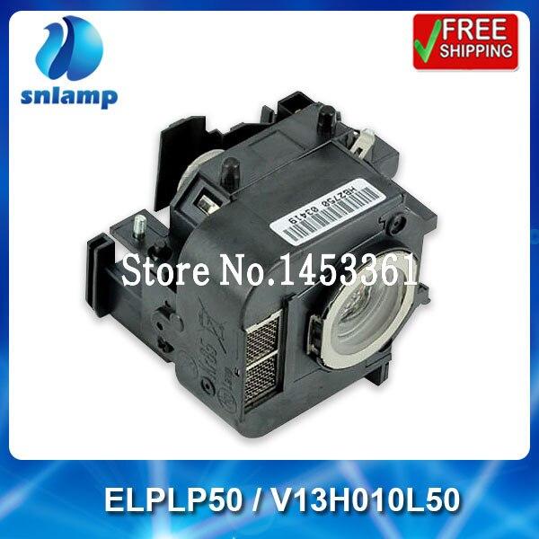 ФОТО Original projector mercury lamps ELPLP50 / V13H010L50 for EB-824 EB-825 EB-825H EB-826W EB-84 EB-85; EMP-825 EMP-84h...