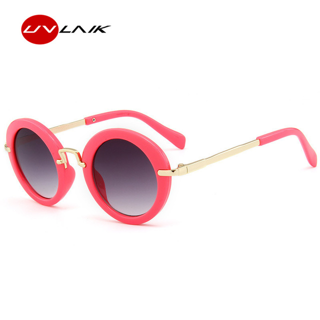 21bf925dab00d UVLAIK Cute Round Kids Sunglasses Children Fashion Glasses Girls Boys UV400  Lens Baby Sun glasses Protect Eyewear Shades Goggles