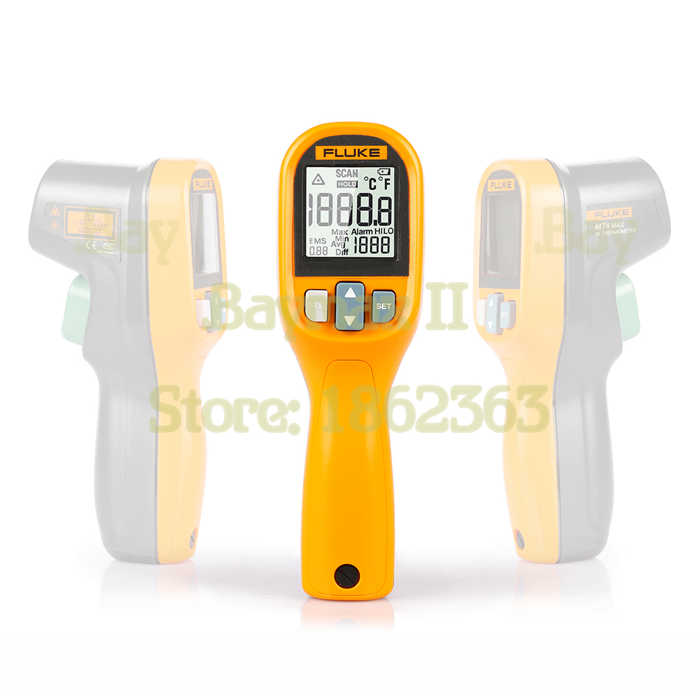 Fluke MT4 MAX IP40 Waterproof Infrared Thermometer 30 350C 22 752F with LCD Backlit and High