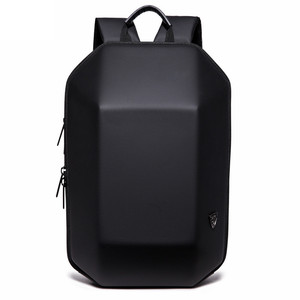 Image 1 - OZUKO Backpack Men Hard Shell Backpack Waterproof Anti Theft Travel Bags Black Creative Alien Casual Laptop Teenage School Boy