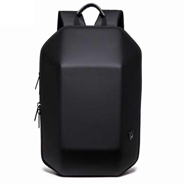 OZUKO Backpack Men Hard Shell Backpack Waterproof Anti Theft Travel Bags Black Creative Alien Casual Laptop Teenage School Boy