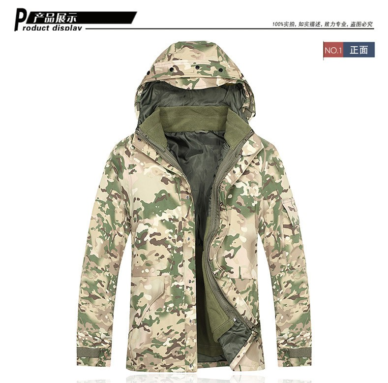 c3d9071d3f253 USMC Hoodie Waterproof ECWCS Gen 1 Parka Jacket Camo Woodland OD Desert camo  ACU BK CP-in Hiking Jackets from Sports & Entertainment on Aliexpress.com  ...