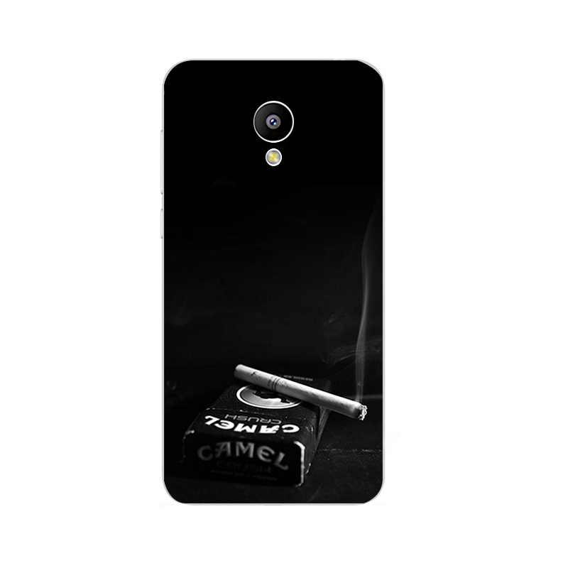 Telefon Fall Für MEILAN E M2 M3 Mini Shell Meizu M1 M2 M3 Hinweis Rückseite MX4 Pro 5 6 MX5 MX6 Metall Weiche TPU Grau Hintergrund