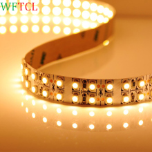 WFTCL 5M 24V IP20 Nonwaterproof 3528 LED Strip 240led Flexible light 5M/Reel showcase led more bright LED strip warm white