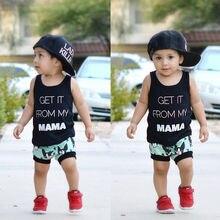 2PCS Toddler Kids Baby Boys Clothing Set