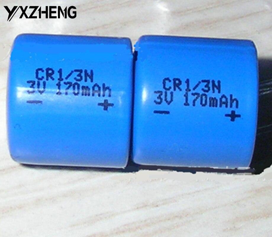 500 pièces 3.0 V pas cher Lithium CR1/3N Li MnO2 batterie/170 mAh en vrac emballage batterie pour outils d'équipement de beauté