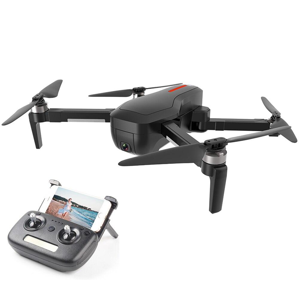 Oyuncaklar ve Hobi Ürünleri'ten RC Helikopterler'de CSJ X7GPS RC Drone 5G Wifi FPV Fırçasız Kamera ile 4K Uzaktan Oyuncaklar Katlanabilir Hareket Fotoğrafı RC Helikopter RTF VS ZLRC Beast SG906'da  Grup 1