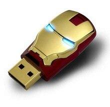 USB Flash Drive 128GB Pen Drive Pendrive Marvel Super Hero Style 8GB 16GB 32GB 64GB