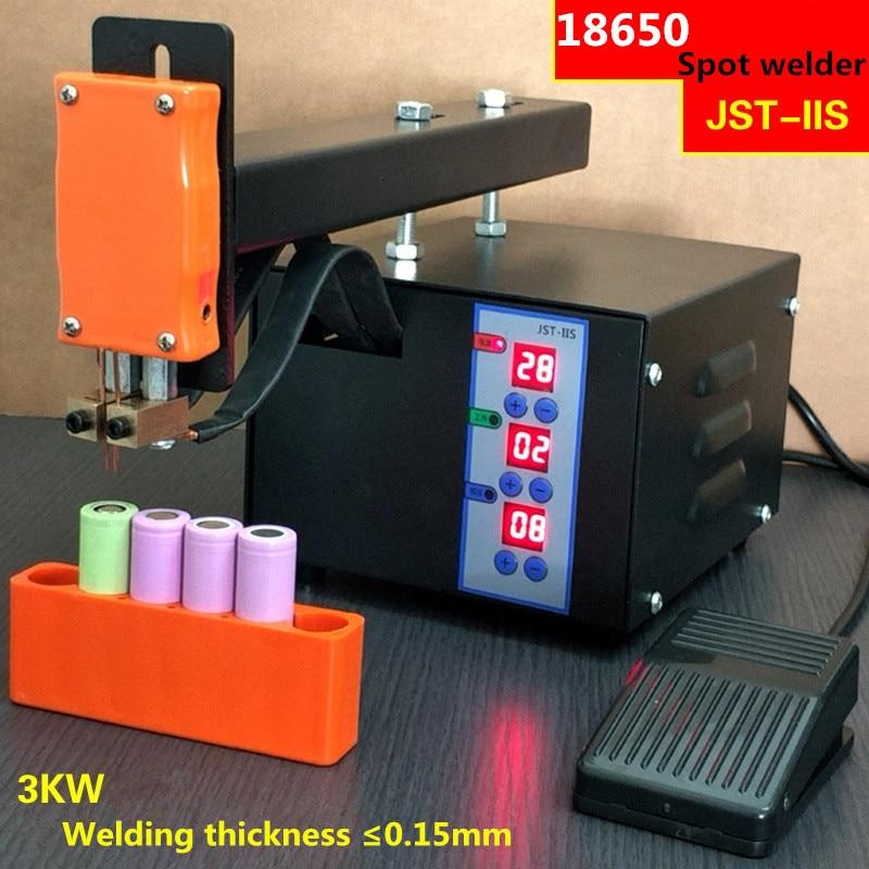 цена на Battery spot welding machine 18650 lithium battery battery pack welding machine 220V 3KW extended welding arm