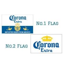 90*150 см 60*90 пиво corona флаг баннер 3x5FT 100D цифровой печати события украшения бар Октоберфест